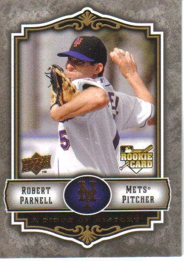2009 Upper Deck Piece of History  #142 Robert Parnell  RC  Mets