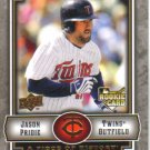 2009 Upper Deck Piece of History  #144 Jason Pridie  RC  Twins