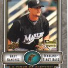 2009 Upper Deck Piece of History  #148 Gaby Sanchez  RC  Marlins