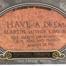 2009 Upper Deck Piece of History  #155 I Have A Dream Speech   Historical Moments
