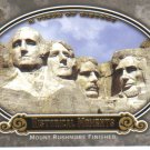 2009 Upper Deck Piece of History  #187 Mount Rushmore Finished   Historical Moments