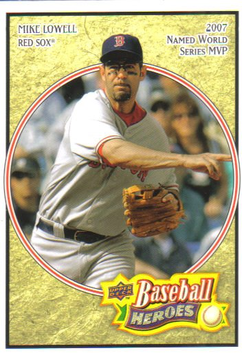 2008 Upper Deck Heroes  #19 Mike Lowell   Red Sox