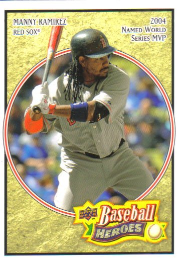 2008 Upper Deck Heroes  #22 Manny Ramirez   Red Sox