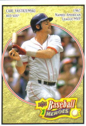 2008 Upper Deck Heroes  #33 Carl Yastrzemski   Red Sox