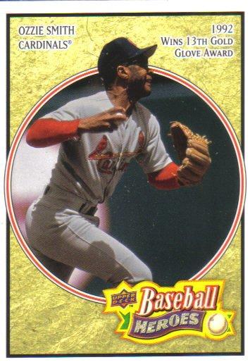 2008 Upper Deck Heroes  #124 Ozzie Smith   Cardinals