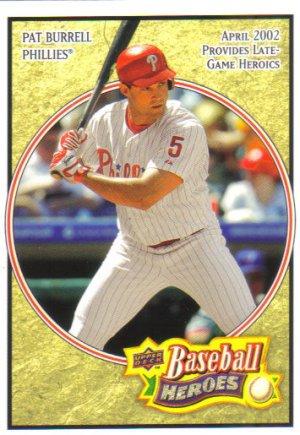 2008 Upper Deck Heroes  #137 Pat Burrell   Phillies