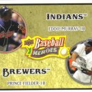 2008 Upper Deck Heroes  #181 Eddie Murray / Prince Fielder