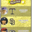 2008 Upper Deck Heroes  #193 Nolan Ryan / Greg Maddux / Randy Johnson