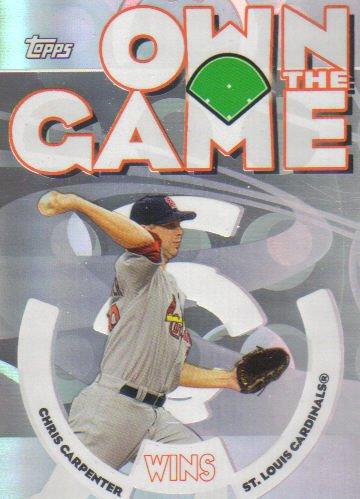 2006 Topps Own The Game  #29 Chris Carpenter   Cardinals