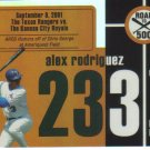 2007 Topps Road to 500  #233 Alex Rodriguez   Yankees