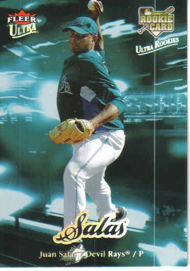2007 Fleer Ultra  #223 Juan Salas  RC  Rays