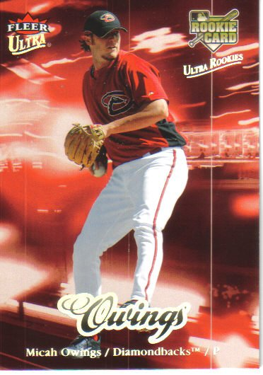 2007 Fleer Ultra  #235 Micah Owings  RC  Diamondbacks