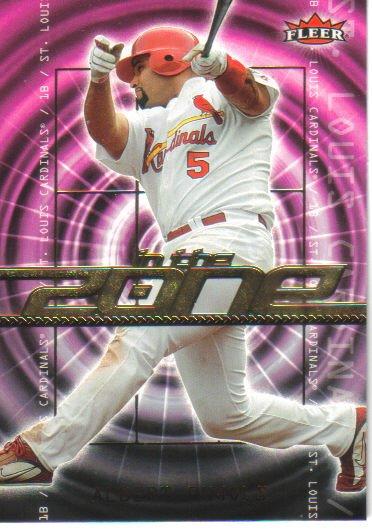 2007 Fleer In The Zone  #IZ-AP Albert Pujols   Cardinals