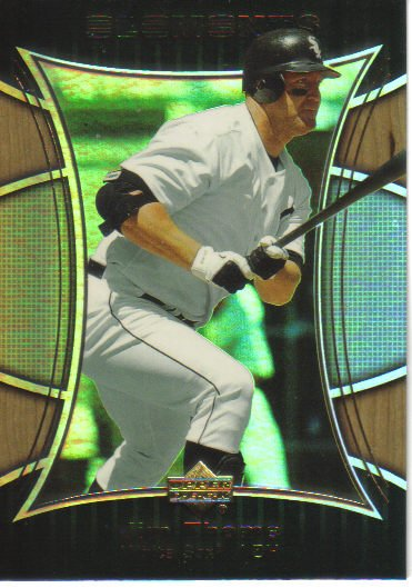 2007 Upper Deck Elements  #10 Jim Thome   White Sox