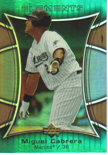2007 Upper Deck Elements  #17 Miguel Cabrera   Marlins