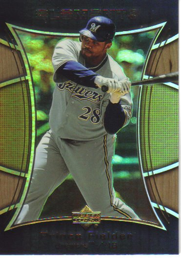 2007 Upper Deck Elements  #23 Prince Fielder   Brewers