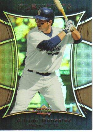2007 Upper Deck Elements  #33 Adrian Gonzalez   Padres