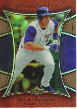 2007 Upper Deck Elements  #39 Mark Teixeira   Rangers