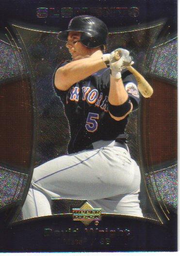 2007 Upper Deck Elements  #68 David Wright   Mets