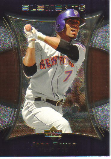 2007 Upper Deck Elements  #69 Jose Reyes   Mets