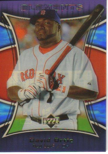 2007 Upper Deck Elements  #89 David Ortiz   Red Sox