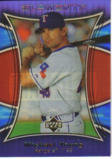 2007 Upper Deck Elements  #124 Michael Young   Rangers