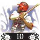 2008 Topps Moments & Milestones  #135 - 10 Vladimir Guerrero   Angels  /150
