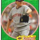 2008 Upper Deck Heroes Emerald Green  #26 Curt Schilling   Red Sox  /499