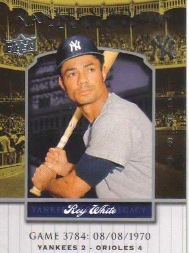 2008 Upper Deck Yankee Stadium Legacy  #3784 Roy White