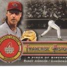 2009 Upper Deck Piece of History Franchise History Black  #RJ Randy Johnson   Diamondbacks  /149