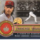 2009 Upper Deck Piece of History Franchise History  #RJ Randy Johnson   Diamondbacks  /999