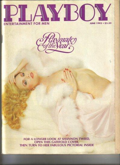 June 1982  Playboy Magazine    Shannon Tweed  PMOY