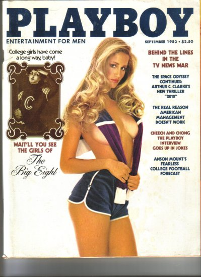 September 1982  Playboy Magazine    Connie Brighton