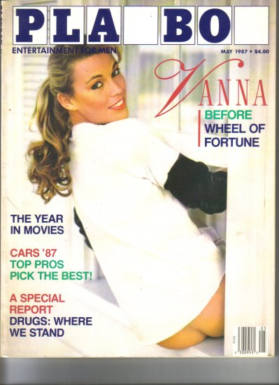 May 1987  Playboy Magazine    Vanna White
