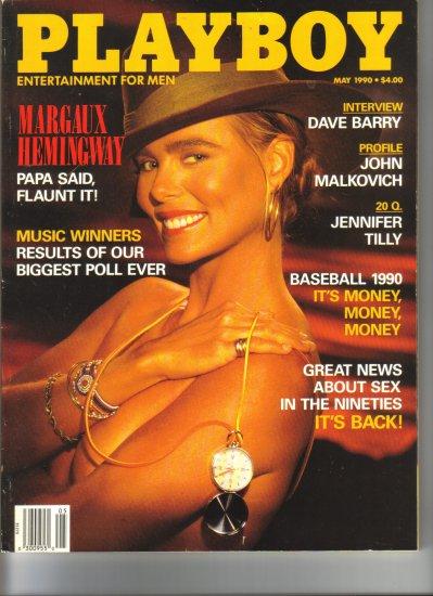May 1990  Playboy Magazine    Margaux Hemingway