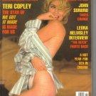 November 1990  Playboy Magazine   Teri Copley
