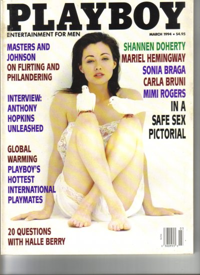 March 1994  Playboy Magazine   Shannon Doherty