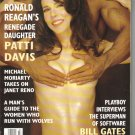 July 1994  Playboy Magazine   Patti Davis  Traci Adell