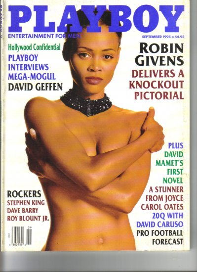 September 1994  Playboy Magazine   Robin Givens