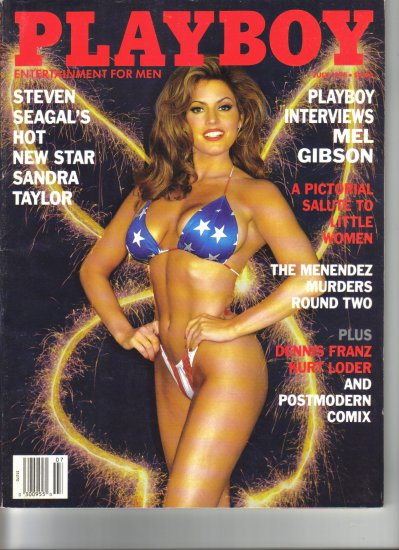 July 1995  Playboy Magazine   Sandra Taylor
