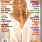 September 1995  Playboy Magazine   Kimberley Conrad Hefner  Donna D'Errico