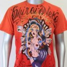 SHIROI NEKO T-shirt Tattoo Rock Skull Punk Mens Code : A015 Size=L