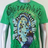 SHIROI NEKO T-shirt Tattoo Rock Skull Punk Mens Code : A017 Size=L