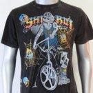 SHIROI NEKO T-shirt Tattoo Rock Skull Punk Mens Code : A023 Size=L