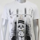 SHIROI NEKO T-shirt Tattoo Rock Skull Punk Mens Code : A039 Size=L