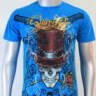 SHIROI NEKO T-shirt Tattoo Rock Skull Punk Mens Code : A056 Size=M