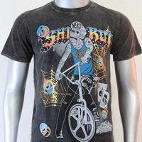 SHIROI NEKO T-shirt Tattoo Rock Skull Punk Mens Code : A059 Size=L