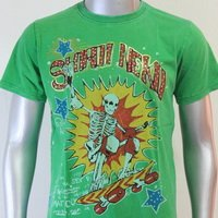 SHIROI NEKO T-shirt Tattoo Rock Skull Punk Mens Code : A061 Size=M