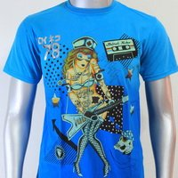 SHIROI NEKO T-shirt Tattoo Rock Skull Punk Mens Code : A066 Size=M