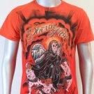 SHIROI NEKO T-shirt Tattoo Rock Skull Punk Mens Code : A071 Size=M